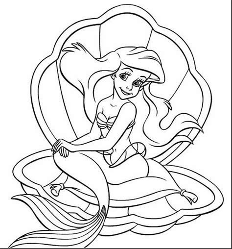 Ariel Coloring Pages Best Of Little Mermaid Printables