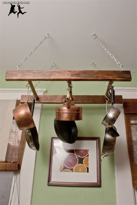 Pots And Pans In The Kitchen by Antique Ladder Pot Rack Diy Old House Crazy