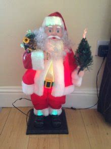 24 fibre optic santa claus for sale in ratoath meath from