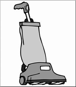 Clip Art: Vacuum Cleaner Grayscale I abcteach.com | abcteach