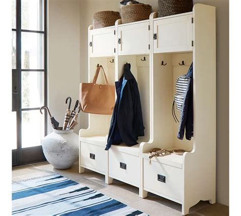 Entryway Cabinet Tower wade cabinet tower almond white pottery barn