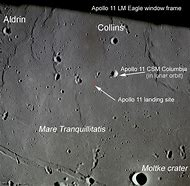 Apollo 11 Landing Site Telescope