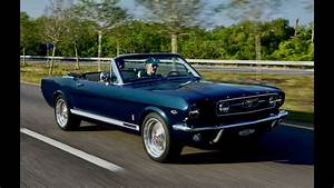 Revology Car Review | 1966 Mustang GT Convertible in Nightmist Blue Metallic - YouTube
