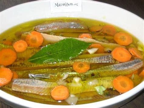 cuisiner le hareng harengs fumés marinés façon brasserie recette
