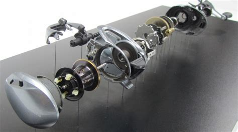 exploded view fishing reel display kiwimill model maker blog