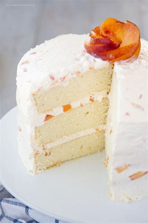 peach cake recipes  pinterest southern desserts