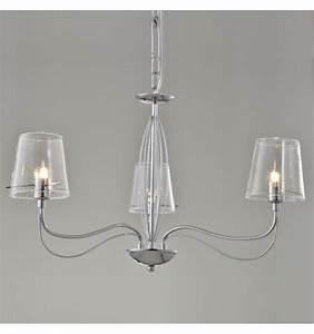 Lustre Pour Chambre : lustre baroque et design en verre transparent matane ~ Teatrodelosmanantiales.com Idées de Décoration