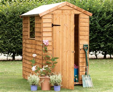8x6 durham apex shiplap wooden shed departments diy at b q