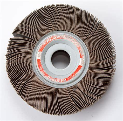 bench grinder wheels buy 6 quot x 1 5 quot x 1 quot abrasive flap wheel for bench grinder
