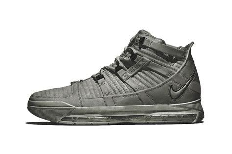 New Lebron James Nike Lebron 3 'cool Grey' Sneaks Teased