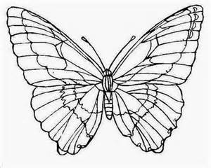 Printable Butterfly Stencil Tattoo