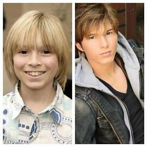 This is Dustin from Zoey 101 then and now. Whoa ...