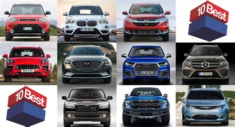 Car & Driver's 10 Best Trucks & Suvs Of The Year