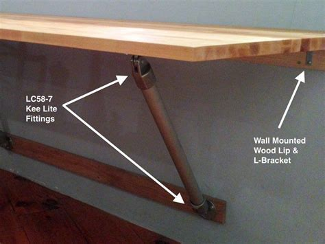 wall mounted table diy   Kitchen