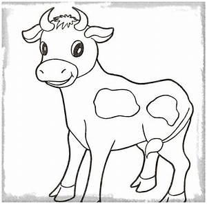 Los Mejores Dibujos para Pintar Vaca Imagenes de Vacas