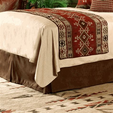 western bedding king size monument valley bed runner