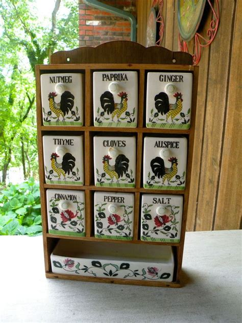 Ceramic Spice Rack by 17 Best Images About Roosters And Roses On