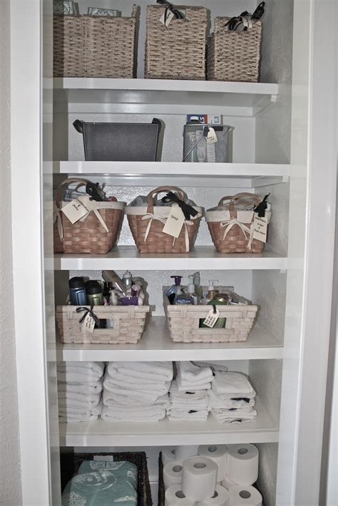 Bathroom Linen Closet Ideas by The Cottage On The Pond Turning A Closet Into