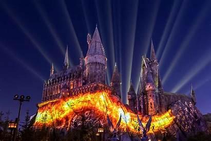 Hogwarts Universal Studios Castle Dark Potter Harry