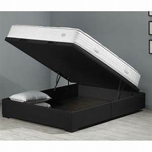 Sommier coffre but perfect lit with sommier coffre but for Décoration chambre adulte avec matelas simmons orion