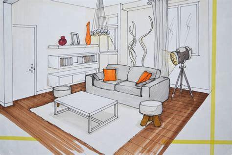 comment dessiner un canapé en perspective dessin en perspective mh deco le