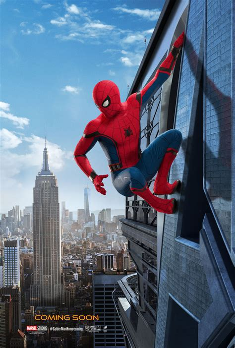 spider man homecoming posters revealed