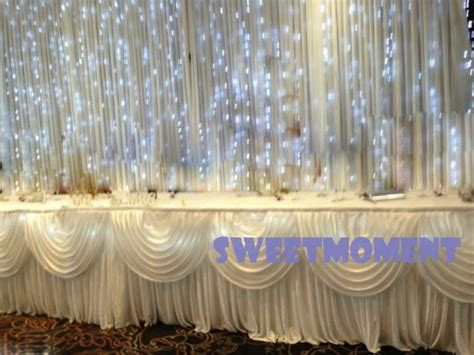 Led Curtain Wedding Backdrop