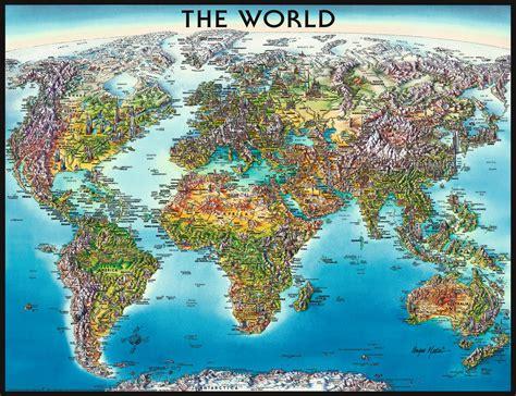 world map jigsaw  ravensburger    pieces