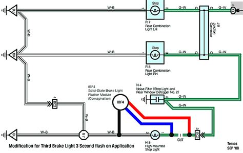 Ezgo Brake Light Wiring Diagram by A Inspired Addition To My Tc2 3rd Brake Light Win