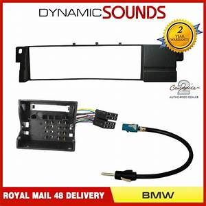 Car Cd Stereo Radio Fascia Wiring Fitting Kit For Bmw 3