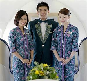 Today, female flight attendants for Malaysian Airlines ...