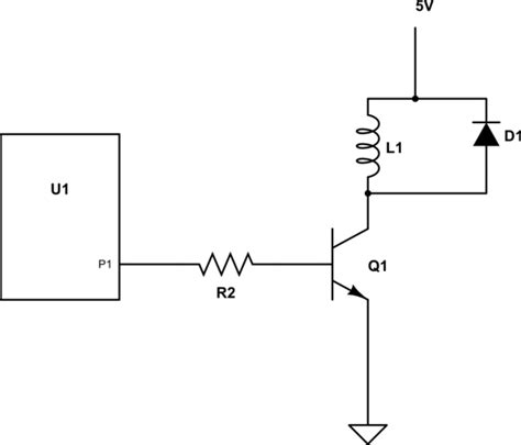 Diodes Selecting Switching Transistor For Relay