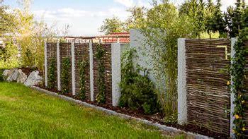 Einfach Gestaltung Garten Sichtschutzwaende Sichtschutz Im Garten Sichtschutz Garten
