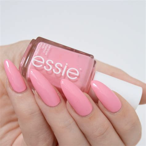 essie spring  collection review pastel pink nails