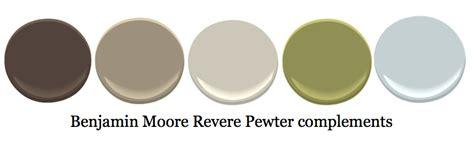 what paint color compliments revere pewter complementary colors to revere pewter wall colors