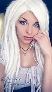 Dreads Hairstyles White Hair