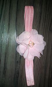 Pink Pearl Headband by IslandRoseBoutique on Etsy | Pink ...