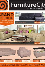 furniture city specials catalogue  aug   sep