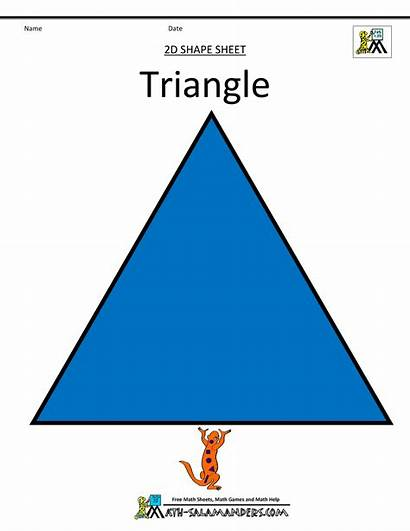 Shapes 2d Clipart Triangle Basic Shaped Cliparts