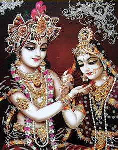 Lord Radha Krishna Beautiful Image
