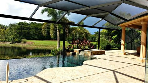 pool cages screen enclosures by gulf coast aluminum