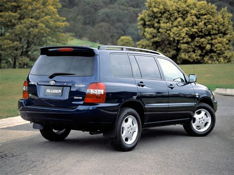 The toyota highlander, also known as the toyota kluger (japanese: Toyota Kluger 2005 - reviews, prices, ratings with various ...