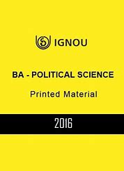 Books for political science and international relations optional