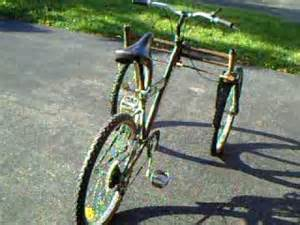 Homemade Three Wheel Bicycle