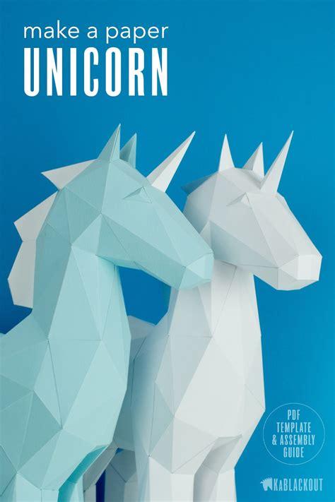 printable unicorn papercraft printable papercrafts printable papercrafts