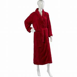 ladies luxury slenderella dressing gown extra long fleece With robe extra longue