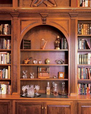 hand crafted walnut library wall  ladder  odhner