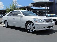 Used 2004 Lexus LS 430 for sale at MercedesBenz of Tucson