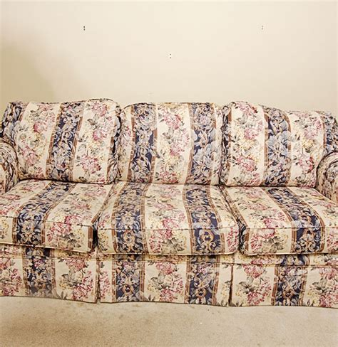 floral sofas for sale broyhill sofa with floral pattern ebth