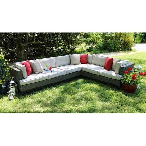 ae outdoor camilla 4 sectional conversation set